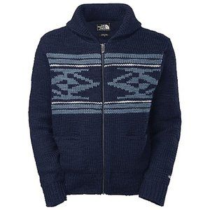 The North Face M Kadow Chunky Wool Zip Cardigan